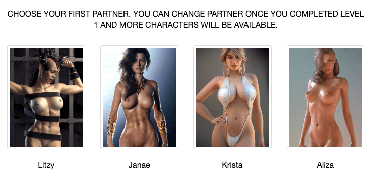 select characters option in westsluts