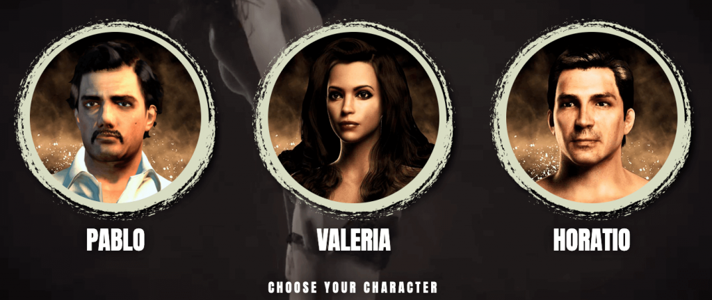 character selection for narcosxxx