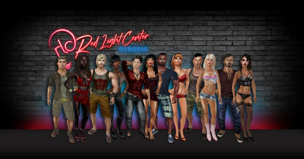 all the porn game characters from red light center