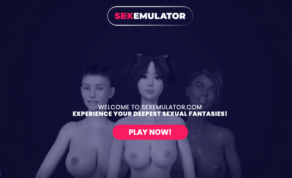 home page of sexemulator the meet n fuck game