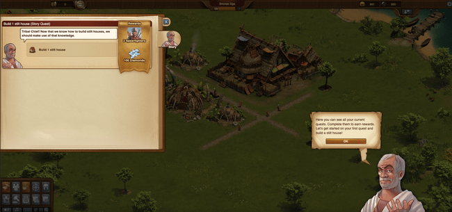 story mode of forgeofempires game